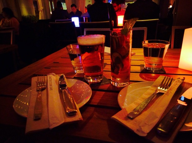 Drinks at The Cactus Club Café in Toronto | Just Treat Yourself
